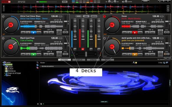 4 decks
