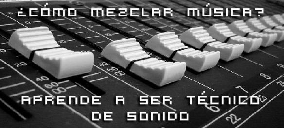 aprende a mezclar musica