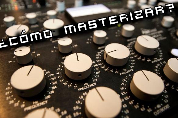 como masterizar